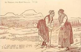 Depts Div- Charente - Ref G109- Les Paysans Par René  Billaud -collection Victor Billaud A Royan - Patois - - Illustrateurs & Photographes