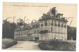 Berneuil-sur-Aisne (60): Une Voiture Devant Le Château Sainte-Clair  En 1925. - Andere Gemeenten