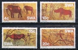 Namibie - SWA - 1976 - Peintures  Rupestres - Prehistoric Rock Paintings - Neufs - Archéologie