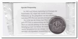 Nederland Speciale Postpenning Met Afbeelding Kroningszegel - Adel