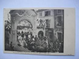 Ma Réf: 63-20-14.  SAINT-MIHIEL   Inauguration Du Monument Ligier-Richter.  Arrivée De Mr Dujardin..... - Saint Mihiel