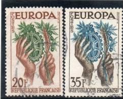 EUROPA CEPT 1957 O FRANCE - 1957