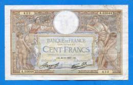 100 Fr 30/9/1937 - 100 F 1908-1939 ''Luc Olivier Merson''