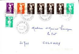 LSI 2610x4 2611x2+2612+2613 Moêlan / Mer Colomby Barres De Tri - 1961-....