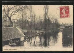 CPA Gouvieux, La Chaussee, Les Bords De La Nonette - Gouvieux