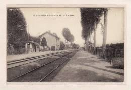 SAINT-HILAIRE-FONTAINE (58) / CHEMINS DE FER / GARES / L A Gare - Unclassified