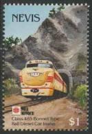 """Nevis 1991 Mi 631 ** Class 485 Diesel Rail Car Locomotive – """"Phila Nippon '91"""" / C 485-Bonnet- Dieseltriebwagen - Treinen"""
