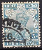 INDE  G.B       N°  86         OBLITERE - 1911-35  George V