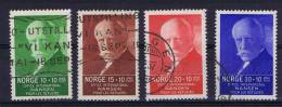 Norway: 1935 Mi 172-5, Used - Usados