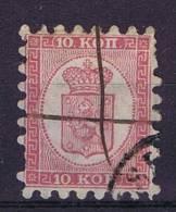 Finland: 1860 Mi 4 B, Used - 1856-1917 Russian Government