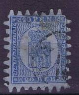 Finland: 1866 Mi 8 C, Used - 1856-1917 Russian Government