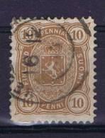 Finland: 1875 Mi 15 B Ya  Perfo 12,5, Used