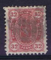 Finland: 1875 Mi 18 A Y  Perfo 11, Used