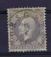 Norway: 1856 Mi Nr 3  Used