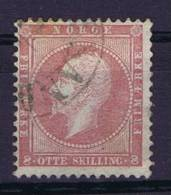 Norway: 1856 Mi Nr 5  Used