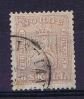 Norway: 1856 Mi Nr 9  Used