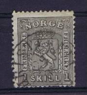 Norway: 1867 Mi Nr 11  Used