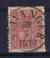 Norway: 1867 Mi Nr 15B  Used - Oblitérés