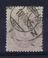 Norway: 1872 Mi Nr 19 E  Used