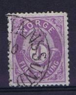 Norway: 1872 Mi Nr 19 A  Used