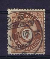 Norway: 1872 Mi Nr 21  Used - Gebruikt