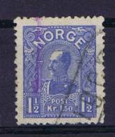 Norway: 1907 Mi Nr 68  Used - Gebruikt