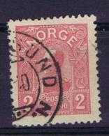 Norway: 1907 Mi Nr 69  Used - Gebruikt