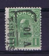 Norway: 1909 Mi Nr 72  Used