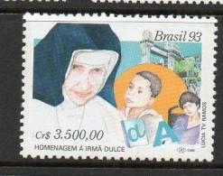 "142 BRASIL 1993- ""Homenaje A La Hermana Irma Dulce"" - Brésil"