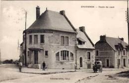 CHAVIGNON - Rte De Laon - La  Poste - Attelage (55097) - Andere Gemeenten
