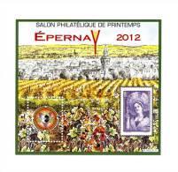 Bloc CNEP N° 60 : Salon De Printemps Epernay 2012 . Voir Le Scan . Vente à Prix Fixe , Achat Immédiat . - CNEP