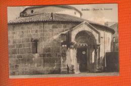 1 Cpa Brindisi Museo S Giovanni - Brindisi