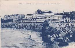 CPA-64-PYRENEES ATLANTIQUES - BIARRITZ - Le Casino Municipal Et La Grande Plage - Biarritz