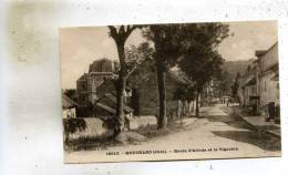 Mouchard  39   La  Route D'Arbois Animée  Et Le Vignoble - France