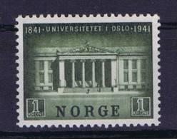Norway: 1941, Mi 258, MH/* - Ongebruikt