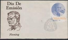 O) 1981 MEXICO, ALEJANDRO FLEMING, SCIENTIFIC SCOTTISH, ENZYME DECUBRIO LYSOZYME, FDC F - Mexico