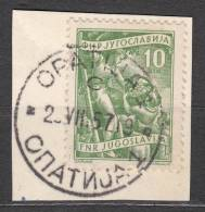 Yugoslavia Republic, 1950 Very Nice Cancel OPATIJA - Gebruikt
