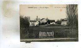 Crissey  39    Une Vue Sur L'Eglise Au Fond L'Usine - France