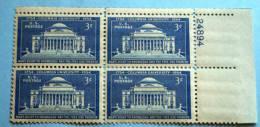 USA 1954 Columbia University  BLOCK MNH** - Etats-Unis