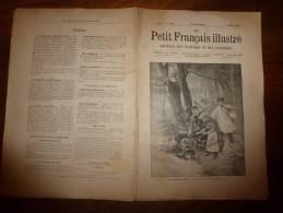 1895   Le Petit Français Illustré :  Le Collège Anglais De HARROW; Les Dangers De La Cuisson électrique - Newspapers