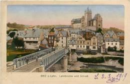 Avr13 291 : Diez A. Lahn.  -  Lahnbrücke Und Schloss - Diez