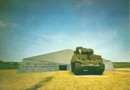 BASTOGNE HISTORICAL CENTER.  Char Sherman Offert Par Le Général Desobbry. - Bastogne