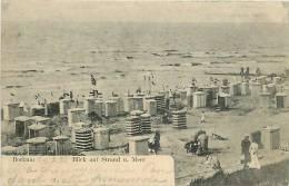 Avr13 294 : Borkum  -  Blick Auf Strand U. Meer - Borkum