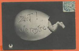 W167, Oeuf, Bébé, Circulée 1905 - Baby's