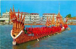 BANGKOK - THAILAND - The Nakaraj Barge In A Procession (Phatana Ltd, N° 616) - Thaïlande
