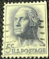 United States 1962 Washington 5c - Used - Oblitérés