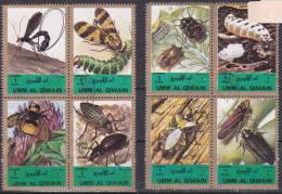 Insectes : 2 Blocs De 4 Timbres - Insectes