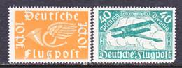 German C 1-2  ** - Airmail