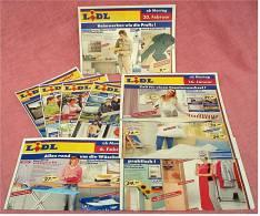 9 X Lidl Präsentiert  2006 Reklame Prospekte  - Insgesammt  Ca. 240 Seiten - Reklame