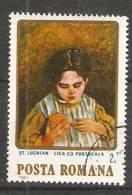 Romania 1984  Paintings: Lica With A Orange  (o)  Stefan Luchian - 1948-.... Repubbliche
